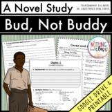 Bud, Not Buddy Novel Study Unit Distance Learning