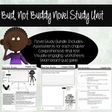 Bud, Not Buddy Novel Study Bundle: Chapter Quizzes, Final Assessment, Games