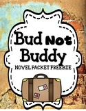 Bud Not Buddy - Novel Study Freebie
