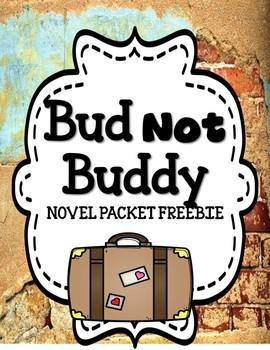 Bud Not Buddy - Novel Study Freebie