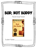 Bud, Not Buddy Novel Study Packet + Flipbook