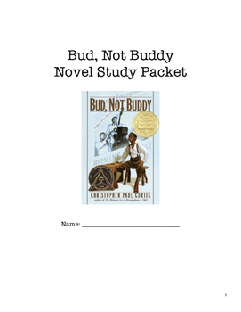 Bud, Not Buddy Novel Study Packet