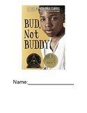 Bud, Not Buddy Novel Unit