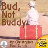 Bud, Not Buddy Novel Study Book Unit Distance Learning