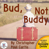 Bud, Not Buddy Novel Study Book Unit Distance Learning