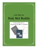 Bud, Not Buddy Novel Unit Plus Grammar