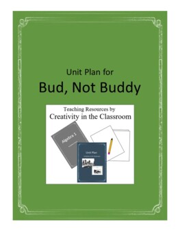 Bud, Not Buddy Novel Unit Plus Grammar