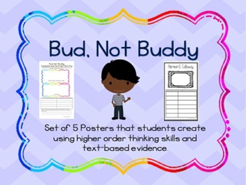 Bud, Not Buddy Poster Set