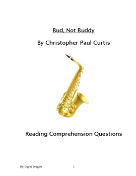 Bud, Not Buddy Reading Comprehension Questions