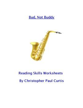 Bud, Not Buddy Reading Skills Worksheets