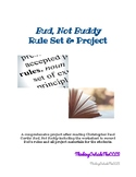 Bud, Not Buddy Rule Book & Project