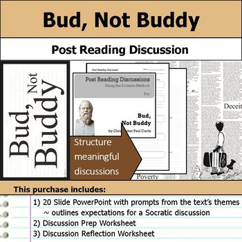 Bud, Not Buddy - Socratic Method - Post Reading Discussions