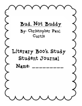 Bud, Not Buddy Student Journal