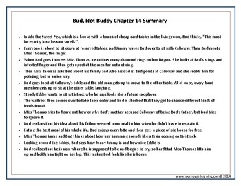 bud not buddy chapter 12 summary