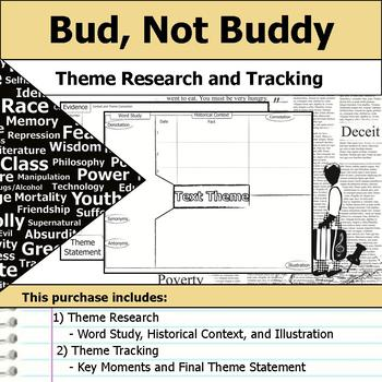Bud, Not Buddy - Theme Tracking Notes -  Etymology & Context Research