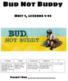 Bud Not Buddy Unit 1 Presentation Slides & Worksheet Engag