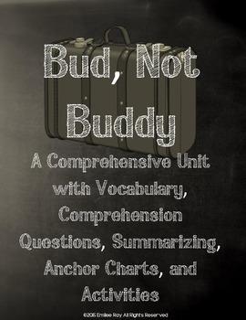 Bud, Not Buddy Unit