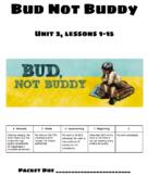 Bud Not Buddy Unit 2 Presentation Slides & Worksheet Engag