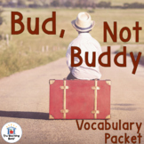 Bud, Not Buddy Vocabulary Packet