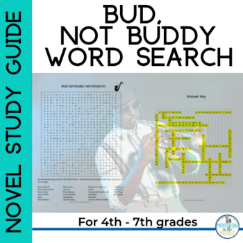 Bud, Not Buddy Word Search