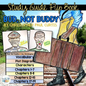 BUD, NOT BUDDY NOVEL STUDY LITERATURE GUIDE FLIP BOOK
