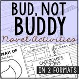Bud Not Buddy Interactive Notebook Novel Unit Study Activi
