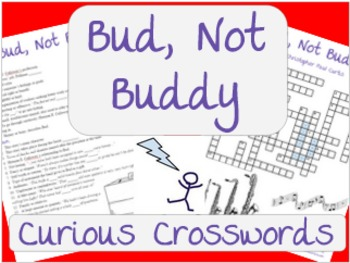 """Bud, Not Buddy"" by Christopher Paul Curtis Worksheet - Crossword"