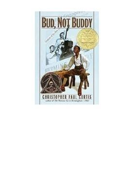 Bud, not Buddy Interactive Journal