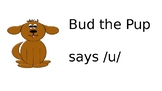 Bud the Pup short u Powerpoint
