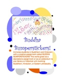 Buddha Bumperstickers (Great for Siddhartha) Fun Activity for Buddhism, Hinduism