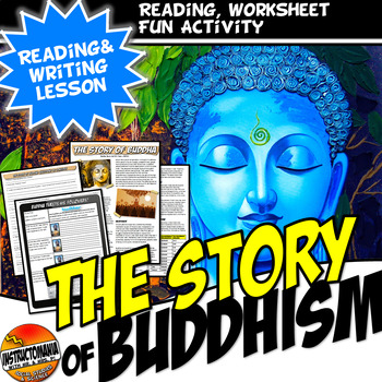 The Story of Buddha Common Core Writing, Literacy and Twitter Activity
