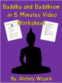 Buddha and Buddhism in 5 Minutes Video Worksheet