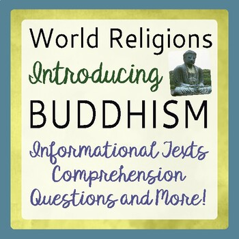 Buddhism Introduction History World Religion Informational Texts Activities
