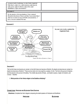 Day 007_World Religion - Buddhism - Lesson Handout