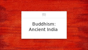 Buddhism: Ancient India