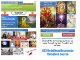 Buddhism - Complete Resources [10 Lessons] (KS3/Middle School] (RE RS) Religion