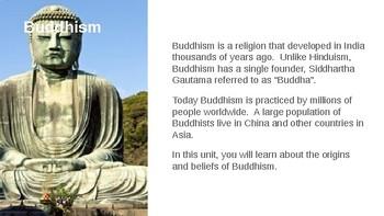 Buddhism Complete Unit
