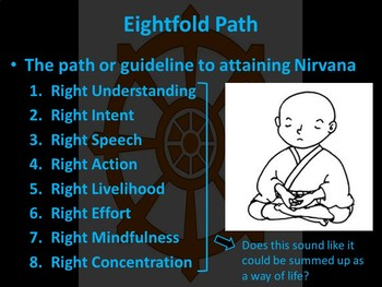 Buddhism- Four Noble Truths & Eightfold Path Student Centered Lesson