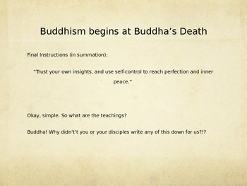 Buddhism Introduction Powerpoint