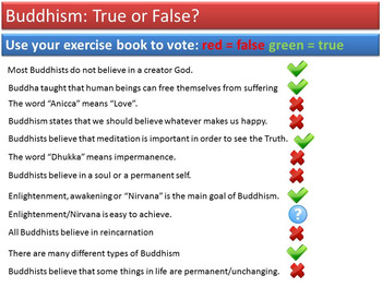 Buddhism - Lesson 2/20 [Dhamma, Three Jewels, Three Marks of Existence] (GCSE)