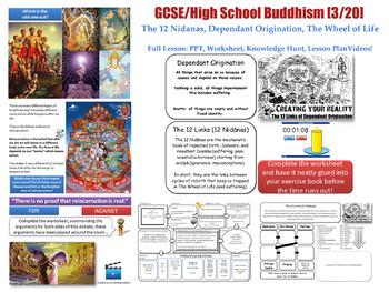 Buddhism -Lesson 3/20[The 12 Nidanas, Dependant Originatio