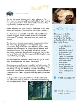 Buddhism Primary Source Lesson plan + Activity