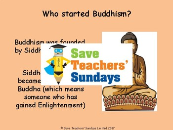 Buddhism Unit (11 lessons - K to 2nd grade)