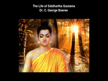 Day 007_Buddhism and Life of the Buddha Power Point