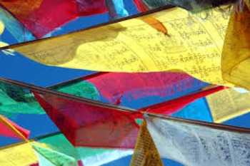 Buddhist Flag Creation