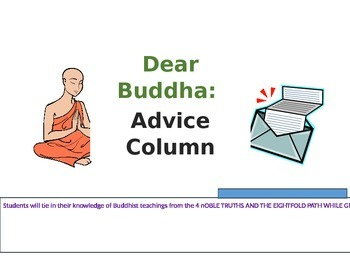 Buddhist Teachings- Dear Buddha Advice Column