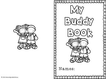 Buddies Get to Know You  Reading Buddy Activity