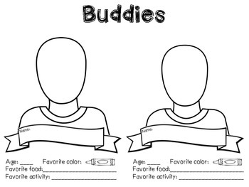 Buddies Introductory Activity