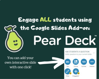 Buddies of 12 - Interactive slides with Pear Deck