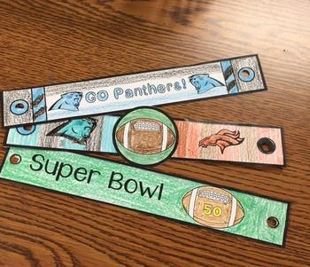 Buddy Bands Super Bowl Edition